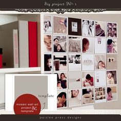 Photo board/wall