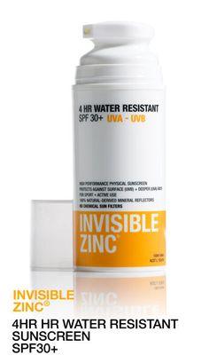 Invisible Zinc 4 Hours Water Resistant 50Ml - Amcal Chempro Online Chemist