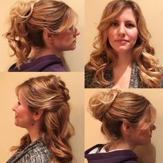 Hair Styles, Fashion, Hair Plait Styles, Moda, Fashion Styles, Hair Makeup, Hairdos, Haircut Styles, Hair Cuts