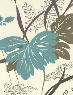 Arboretum wallpaper from Nina Campbell