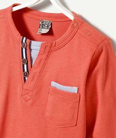 T-shirt Houston - T-shirt Houston Orange Polo Shirt Outfits, T Shirt Polo, Boy Outfits, Boys Shirts, Tee Shirts, Orange T Shirts, Boy Fashion, Houston, Shirt Designs