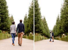 Lichtmädchen Fotografie | Pärchen, Paarshooting, couple, Portrait, in love, verliebt, outdoor, Park, Garten, Allee, hand in hand, kissing
