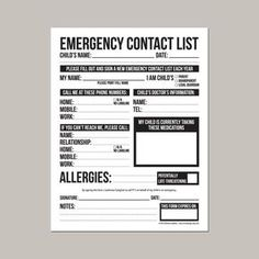 Medical Incident Report Form Incident Report Printable Daycare Form Child Accident Ouchie .