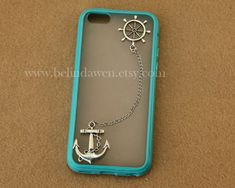 Anchor and rudder iphone 5c case