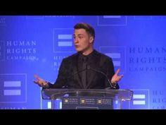 colton haynes speech at the human rights campaign....wow