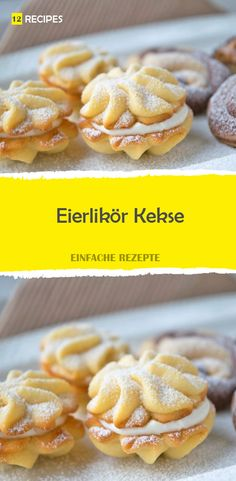 Eierlikörplätzchen Source by Pudding Desserts, Dessert Recipes, Low Carb Recipes, Baking Recipes, Holiday Baking, Vegan Chocolate, Cake Cookies, Sweet Recipes, Delicious Desserts