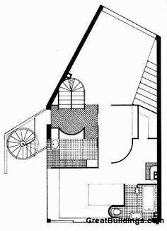 Le Corbusier - Ozenfant House and Studio 1st