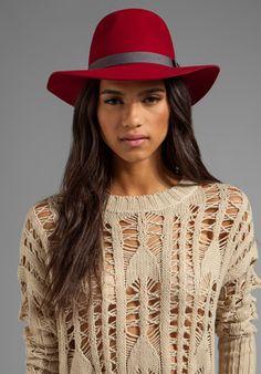 BRIXTON Dalia in Wine - Hats