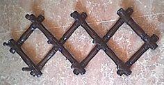 colgador antiguo restaurado Desserts, Food, Home, Hall, Furniture Restoration, Entryway, Objects, Wood, Xmas