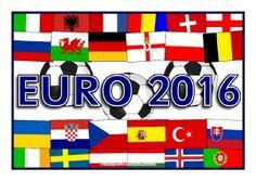 Euro 2016 Football Tournament Printables - SparkleBox