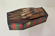 Freddy Krueger , A Nightmare on Elm Street themed Large Coffin Box
