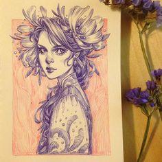 Ballpoint sketch MariaDimova