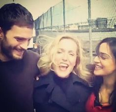 JamieDornan, Gillian Anderson and StellaGibson - The Fall