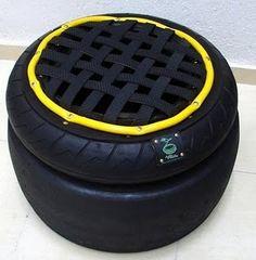 Puffe de pneu.