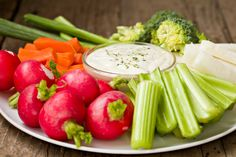 Having a veggie tray at your holiday party? Make this Roquefort Dip made with Daisy Sour Cream for dipping! Sponsored by Daisy Sour cream Sundried Tomato Dip, Great Recipes, Healthy Recipes, Healthy Meals, Healthy Food, Daisy Sour Cream, Low Sugar Snacks, Office Snacks, High Fiber Foods