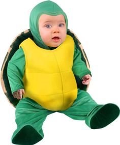 I'd love to be under the sea. Well, sure I would, and so would Baby, in one of these cute Halloween costumes with a deep sea theme. Toddler Halloween Costumes, First Halloween, Baby Costumes, Halloween Ideas, Baby Turtle Costume, Turtle Costumes, Baby Turtles, Turtle Baby, Baby Girl Newborn