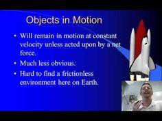 High School Physics - Newton's 1st Law of Motion