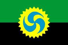 proposta de bandeira para Galiza Sustentable de Manu @casdeiro