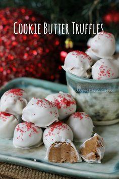 Three Ingredient Cookie Butter Truffles