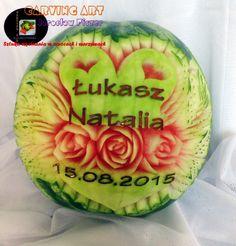 Weselny arbuz na ślub Łukasza i Natalii :)