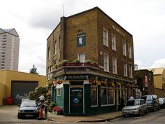 North Pole, Isle of Dogs, London E14 by Kake Pugh, via Flickr London Pubs, Old London, London Docklands, East End London, Isle Of Dogs, London Photos, North Pole, My Happy Place, Far Away