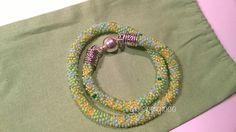 Bracciale doppio giro di crochet by Gioiepergioco
