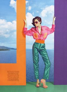 Fashion Photography: candy colors