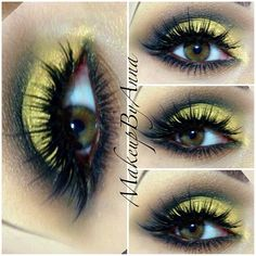 Yellow and black smokey