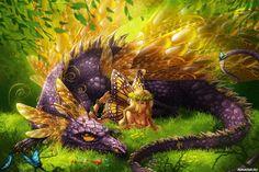 #fairies, #dragons, #fantasy, #images, #феи, #драконы, #фэнтези, #картинки https://avavatar.ru/image/10209