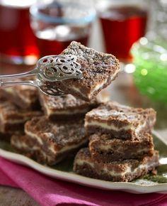 Ljuvliga vaniljrutor med choklad
