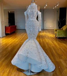 May 2020 - Luxurious 2020 Real Images South African Dubai Mermaid Wedding Dresses Beaded Crystals Bridal Dresses Long Sleeves Wedding Gowns Wedding Gowns With Sleeves, Long Sleeve Wedding, Sexy Wedding Dresses, Bridal Dresses, Maxi Dresses, African Wedding Dress, Luxury Wedding Dress, Gown Wedding, Mermaid Wedding Gowns