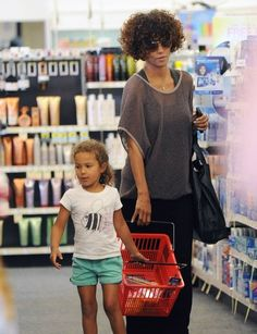 Past Bellyitch BumpWatch Babes: Where are they now?     Halle Berry and daughter Nahla shopping at CVS last weekend
