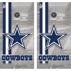 Tailgate Toss NFL Shield - Premium Cornhole Wrap - Cornhole at ...