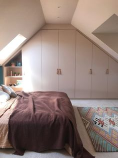Would you go nude? - The interiors trend that's barely there - Nude Walls Upstairs Bedroom, Master Bedroom, Interior Styling, Interior Design, Making Space, Grey Room, Rug, Loft, Home Decor Bedroom