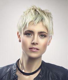 Piece-y Blonde Pixie Haircut