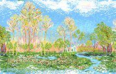 3892-60480-2 Monet Scenic Print