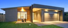 Thirteenth Beach Home Designed by Pivot Homes - 2016 HIA Best Custom Home Winner Modern House Facades, Modern House Plans, Modern Architecture, Exterior Cladding, Wall Cladding, Cladding Ideas, House Front, House 2, Tiny House