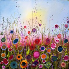 Yvonne Coomber at Imagianation Gallery - St Ives, Cornwall - Art of Imagination