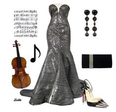 Alexander McQueen from satinees collection by lellelelle on Polyvore featuring polyvore, fashion, style, Christian Louboutin, Music Notes, Alexander McQueen and clothing