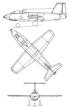 Mikoyan Gurevich MiG I-270 (1947) proyecto tipo de avión cohete