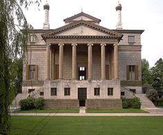 Villa Malcontenta on the River Brenta - Palladio Temple Architecture, Classic Architecture, Historical Architecture, Architecture Design, Amazing Architecture, Andrea Palladio, The River, Villa Palladio, Padua Italy