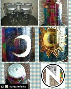 #Repost @nardellioficina with @repostapp  Pintura Sol e lua feita em pote de vidro. Para guardar o que quiser e embelezar sua cozinha! #pote #pinturaempote #potedevidro #sol #lua #soleluna #solelua #moonandsun #cozinha #kitchen #pot #bowl #potpainting #painting #reciclagem #reutilizandopotes #reutilizandovidro #reutilizando #atitudesustentavel #sustentabilidade #nardellioficinasustentavel # by glaubernardelli http://ift.tt/207NOdC