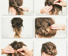 15 Different Hairstyles That Are Easily Obtained Even By The Average Women Who Have No Skills To Make Their Hair - Fashion Diva Design