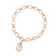 Fabergé Cadeau Diamond Rose Gold Charm #Fabergé