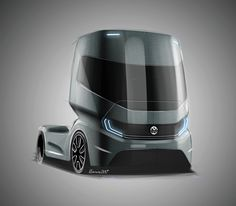 One more conceptual truck