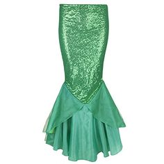 Arielle Meerjungfrau Kostüm selber machen Rock ca 18€   Kostüm Idee zu Karneval, Halloween & Fasching
