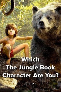 Which Character from Disney's The Jungle Book are You? take this quiz and find out today!