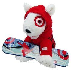 St. Jude Holiday Bullseye® Plush Dog 2013 : Target Mobile