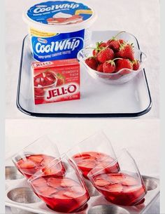 Coolwip Strawberry And Jello Desert Recipe!! #Food #Drink #Trusper #Tip
