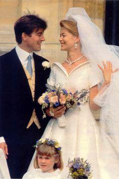 Lady Helen Windsor and Timothy Verner Taylor wedding on Jul 18, 1992